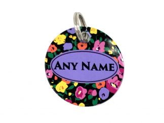 Ditsy Floral ID Tag | Ditsy Pet