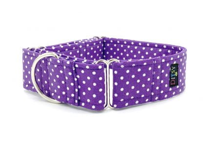 Mauve Martingale Collar | Ditsy Pet