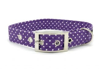 Mauve Buckle Collar | Ditsy Pet